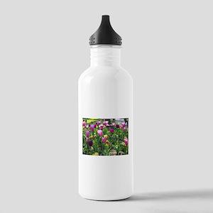 Tulips Park Gardens Stainless Water Bottle 1.0L
