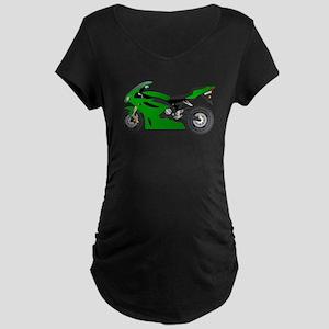 Motorbike transport vehicle Maternity T-Shirt
