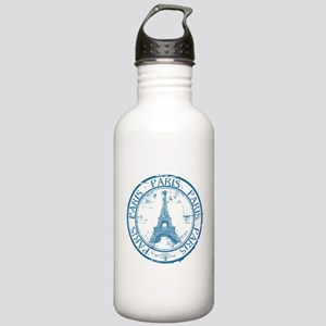 Paris travel stamp Stainless Water Bottle 1.0L