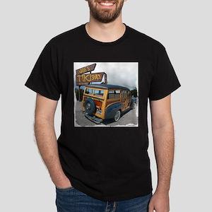 Joe's Tiki Woody Ash Grey T-Shirt