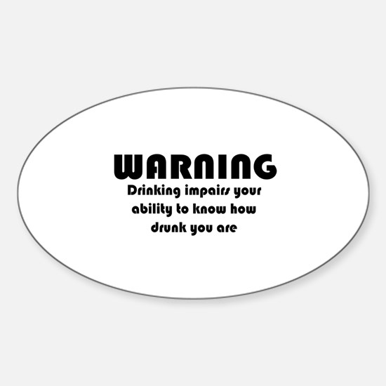 Drunk driving Decal