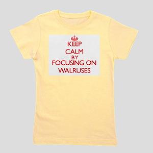 Keep Calm by focusing on Walruses T-Shirt