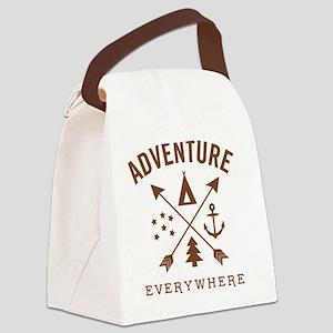 ADVENTURE EVERYWHERE Canvas Lunch Bag