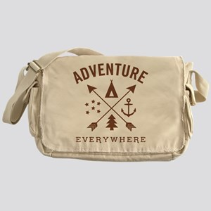 ADVENTURE EVERYWHERE Messenger Bag
