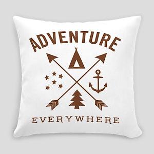 ADVENTURE EVERYWHERE Everyday Pillow