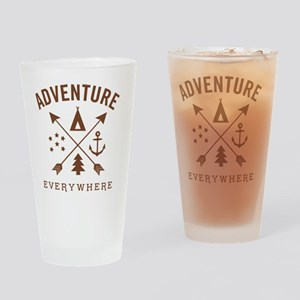 ADVENTURE EVERYWHERE Drinking Glass