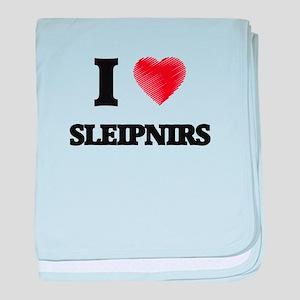 I love Sleipnirs baby blanket