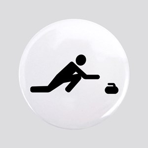 Curling player Button
