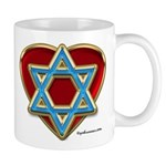 Heart For Israel Mug