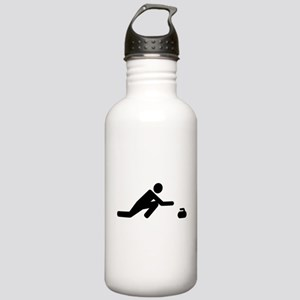 Curling player Stainless Water Bottle 1.0L