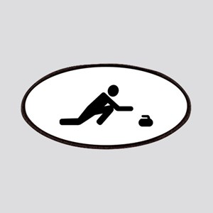 Curling player Patch