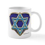 Heart For Israel Mug