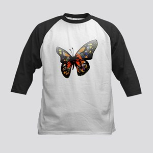 Butterfly with lighting effect cli Baseball Jersey