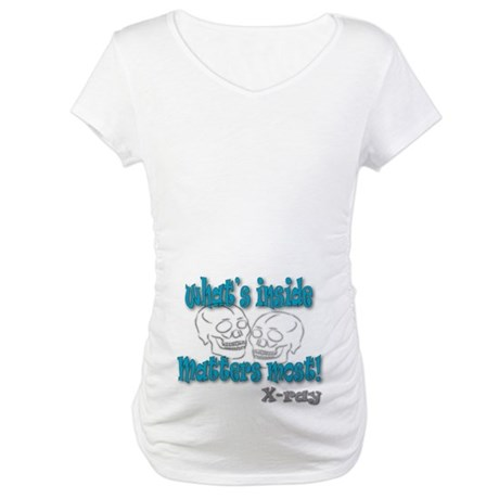 """X-Ray """"What's Inside"""" Maternity T-Shirt"""