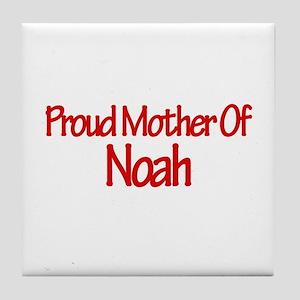 Proud Mother of Noah Tile Coaster