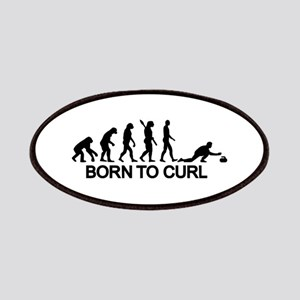 Evolution born to curling Patch