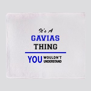 It's a GAVIAS thing, you wouldn't un Throw Blanket