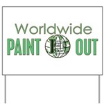 IPAP WORLDWIDE Paint Out Yard Sign