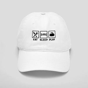 Eat Sleep Play Curling Cap