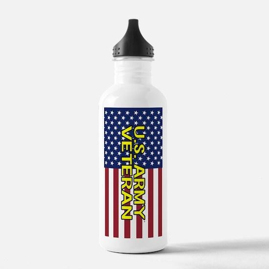 U.S. Army: Veteran (Am Water Bottle