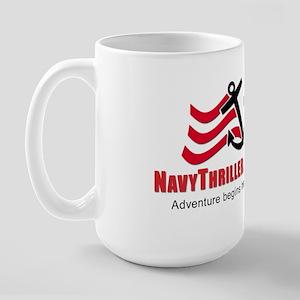 Navy Thriller Large Mug