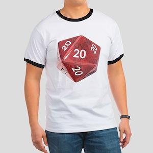 Roll All 20's Ringer T