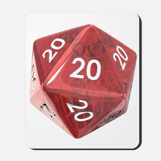 Roll All 20's Mousepad