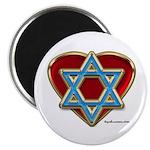 Heart For Israel Magnet