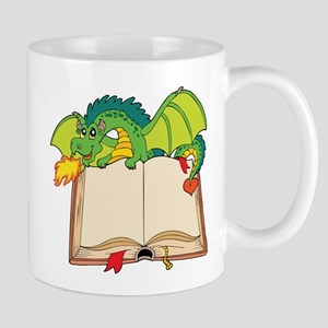 Cute cartoon dragon Mugs