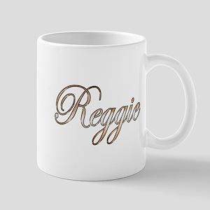 Gold Reggie Mugs