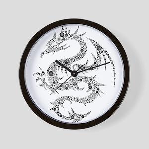 Dragon clip art Wall Clock