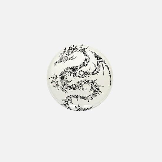 Dragon clip art Mini Button