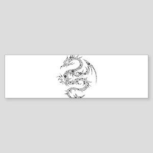 Dragon clip art Bumper Sticker