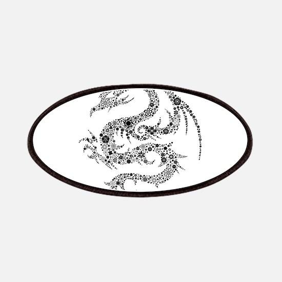 Dragon clip art Patch
