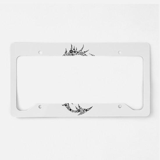 Dragon clip art License Plate Holder