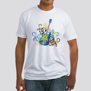 Stylish music guitar abstract T-Shirt