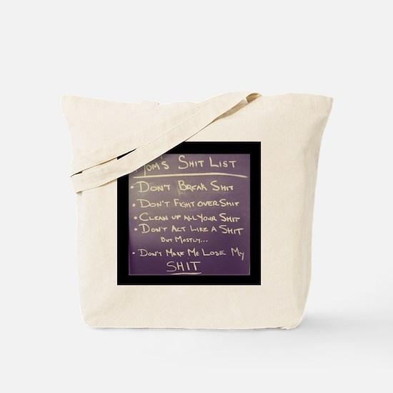 Cool List Tote Bag