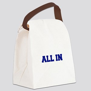 All In Canvas Lunch Bag