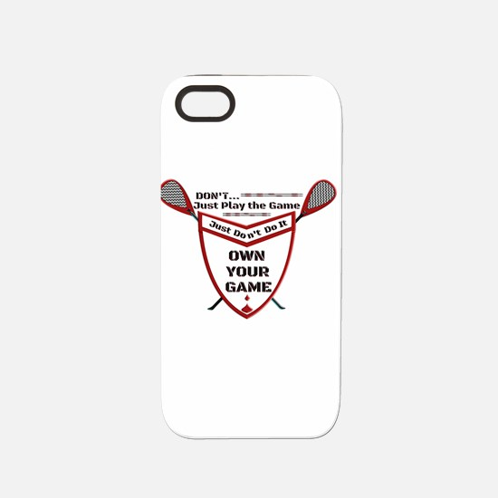 Own Your Game Lax Shield iPhone 5/5S Tough Case