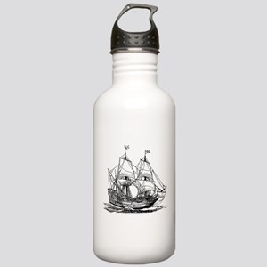 Carrack ship clip art Stainless Water Bottle 1.0L