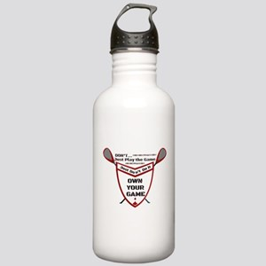 Own Your Game Lax Shie Stainless Water Bottle 1.0L