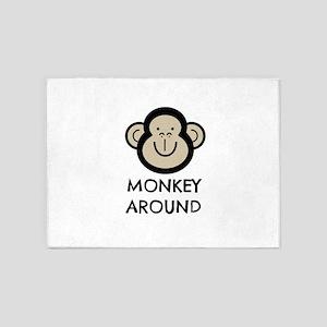 Monkey Around 5'x7'Area Rug