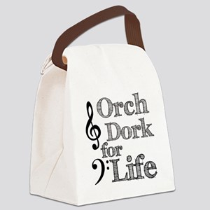Orch Dork for Life Canvas Lunch Bag
