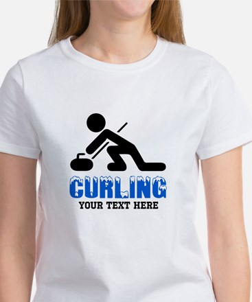 Curling Personalized Tee