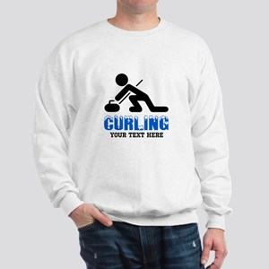 Curling Personalized Sweatshirt