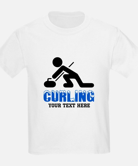 Curling Personalized T-Shirt
