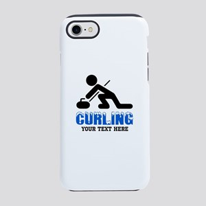 Curling Personalized iPhone 8/7 Tough Case