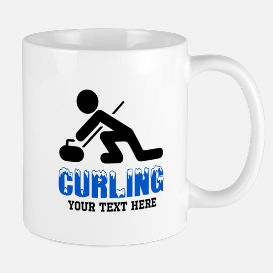 Curling Personalized Mug