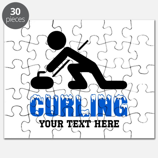 Curling Personalized Puzzle