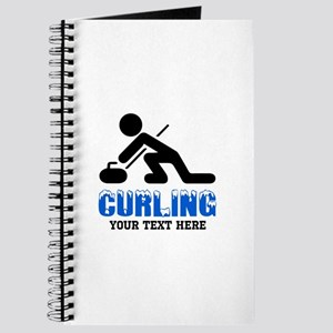 Curling Personalized Journal